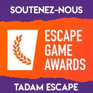 escape game awards tadam escape